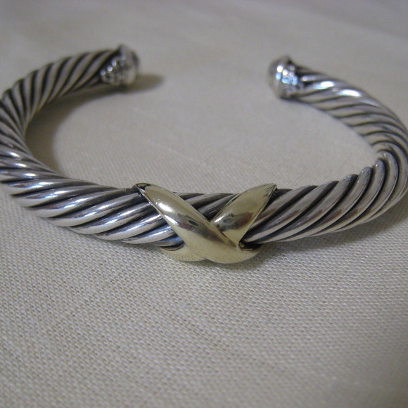 a0f2c054de35a6 David Yurman Jewelry - DAVID YURMAN 7mm X Cuff Bracelet